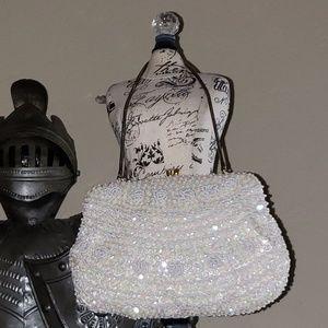 Beaded small  vintage purse